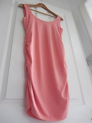 Isabella Oliver Maternity Top/T-Shirt/Vest Size 2/UK 10 Blush/Peach *SMALL MARK*
