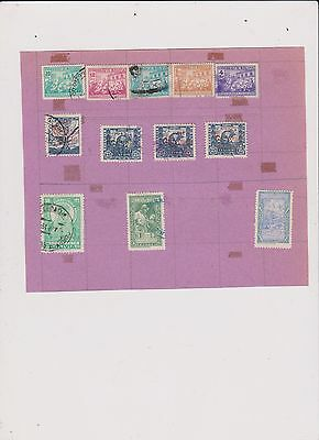Bolivia Stamps Lot 17