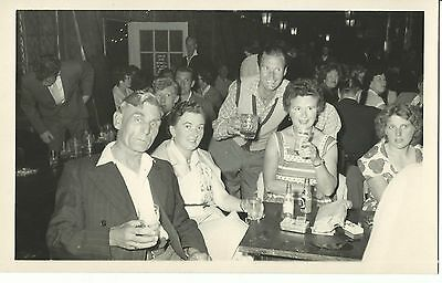 Butlins Holiday Camp Official Holiday Picture Campers In A Bar  June 1960 Pc