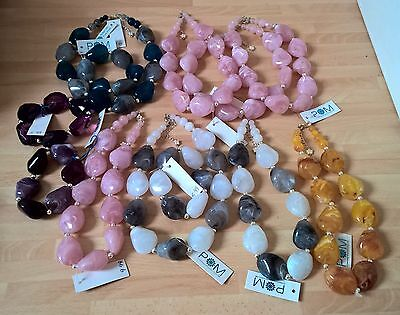 Wholesale Job Lot Jewellery New Necklaces/bracelets Silver Plated  Worth £100+