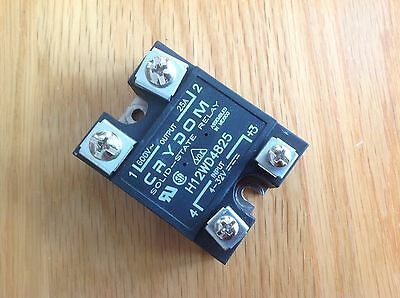 One Crydom Solid State Relay SSR H12WD4825 25A 660V
