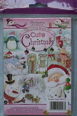 Hunkydory The Little Book of Cute Christmas - SEALED