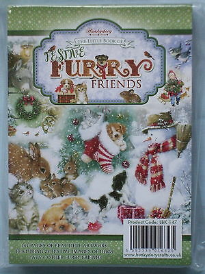 Hunkydory The Little Book of Festive Furry Friends - SEALED