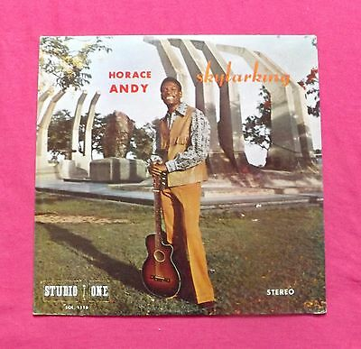 Horace Andy Skylarking Studio One SOL 116 Vinyl LP Record - Fast & Free Shipping