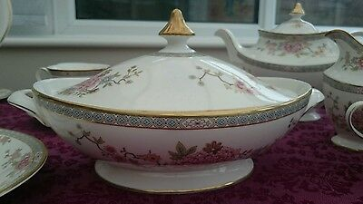 Royal Doulton Fabulous Canton Tureen With Lid Superb Condition