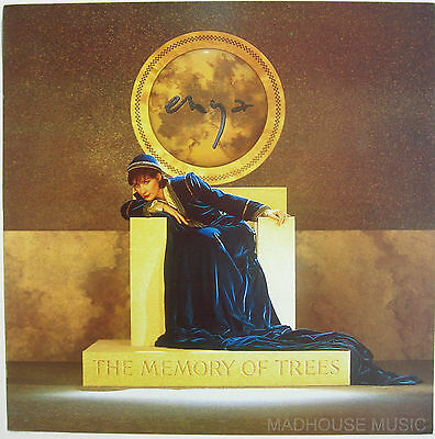 ENYA POSTER POSTER The Memory Of Trees UK PROMO ONLY Rare 'In-Store' Only  MINT