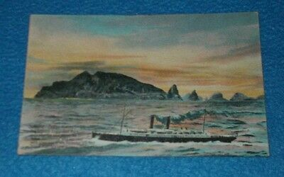 Postcard Shipping Three Kings Frisco Mail Steamer Passi (231106105216)