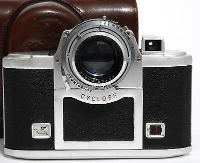 RARE Alsaphot  Cyclope 3.5 with Boyer Paris Saphir 3.5/105mm and case