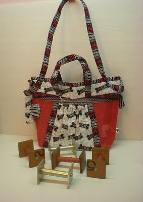 Handmade Obedience Article Bag-Made in USA **CC** I Love My Dog Nubbins Size