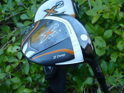 Callaway X2 Hot Deep 12.5* 2  Driver/wood Stiff  Aldila Tour Green -Headcover
