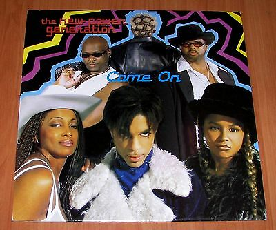 Prince Come on remixes Import Vinyl 12 Remix LP very Rare