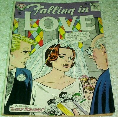 Falling in Love 68, (FN+ 6.5) 1964, 35% off Guide