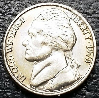 Vintage Novelty Miniature 1978 Jefferson Nickel 5 Cents Coin - Free Combined S/H