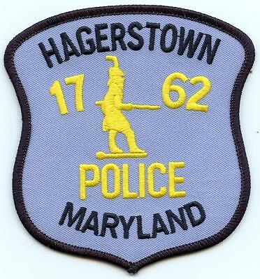 """Hagerstown Marlyland Police Department 4.5"""" Patch Law Enforcement Officer LEO"""