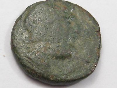 Ancient Greek: Macedonia. Amphipolis. 187-31 BC. Poseidon/Prow.  #15