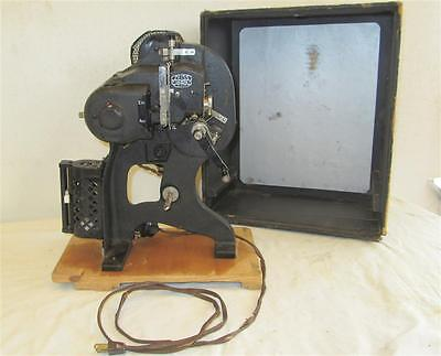Vintage Zeiss Ikon Projector W. 14702 Awesome Display Piece Super Clean Original