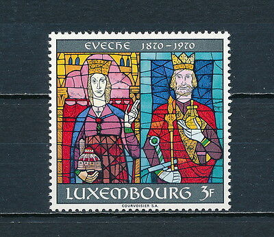 Luxembourg #491 MNH, Stained Glass Windows 1970