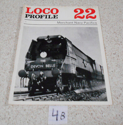 Loco Profile Merchant Navy Pacifics By Brian Reed  Number 22 Magazine