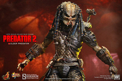Predator 2~Elder Predator~Sixth Scale Figure~Hot Toys~Mib