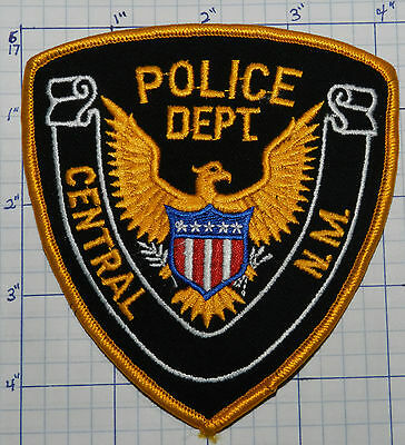 New Mexico, Central Police Dept Eagle Patch