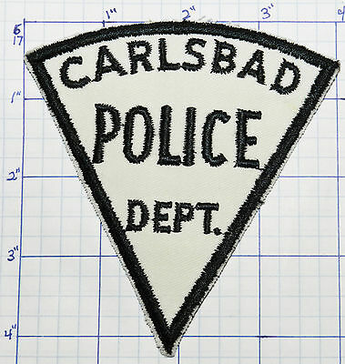 New Mexico, Carlsbad Police Dept Vintage Patch