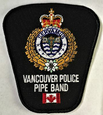 Vancouver Police Pipe Band Patch - British Columbia - Canada - Pipes & Drums