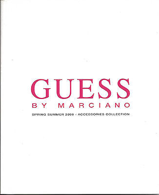 GUESS by MARCIANO summer 2008 Italy  | Katalog / Prospekt | Fashion & Style