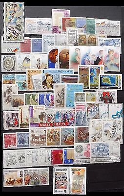 Cept Europa 1982 ** annata completa MNH year beautiful and complete collection