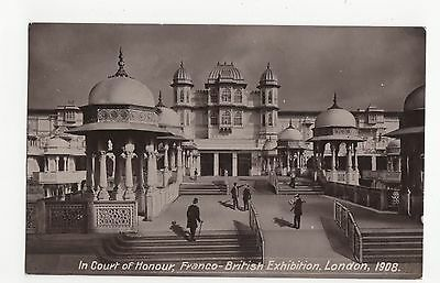 Franco British Exhibition, In Court of Honour RP Postcard, A562
