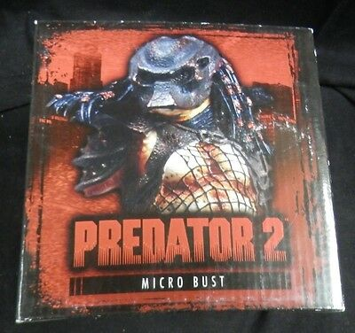 PREDATOR 2 micro bust limited edition #29/75 Palisades Toys MINT IN BOX