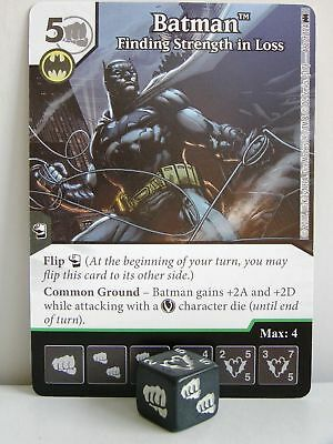 Dice Masters - #046 Batman Finding Strength in Loss - Batman
