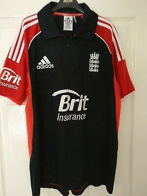 adidas climacool Size XL 44/46  2011 England Cricket World Cup Shirt