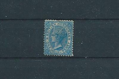 Br. Honduras QV 1872 1d - good mint (SG5) Cat. £95.00 Low start.