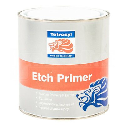 Tetrosyl Etch Primer Chromate Free Fast Drying Substrates Steel 1 Litre