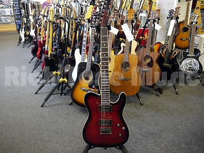 Fender Special Edition Custom Telecaster FMT HH - Black Cherry Burst - 2nd Hand