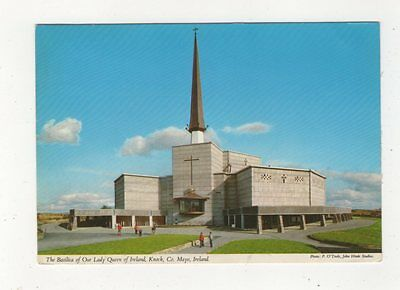 The Basilica Of Our Lady Queen Of Ireland Knock Mayo 1984 Postcard 910a
