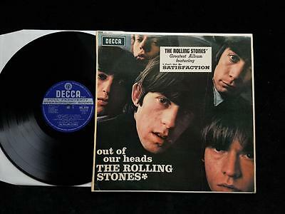 THE ROLLING STONES Out Of Our Heads LP UK EXPORT STEREO 1st Press SLK 4724 EX+