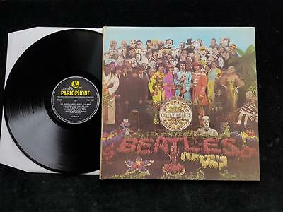 THE BEATLES Sgt.Peppers Lonely Hearts Club Band LP UK 1st 1967 MONO PMC 7027 EX+