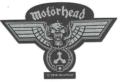 MOTORHEAD Hammered cut out 2010 WOVEN SEW ON PATCH official merchandise LEMMY