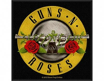 GUNS N ROSES logo 2012 - WOVEN SEW ON PATCH official merchandise (sealed)
