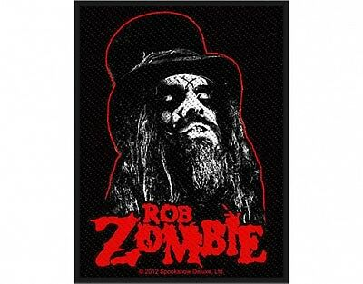ROB ZOMBIE portrait 2012 - WOVEN SEW ON PATCH (sealed)