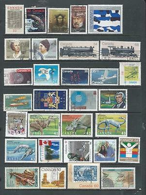 Canada lot 1 nice used selection most Commemoratives good range , [6117)