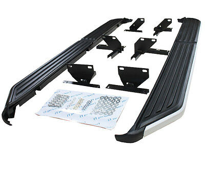 HAWKE Land Rover DISCOVERY 3 & 4 OEM Style Side Steps Side Bars Running Boards