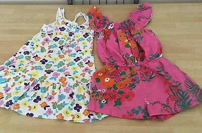girls summer dress and  all in one from next age 4 years