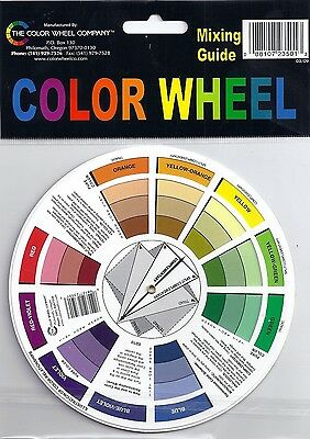 Artist's Pocket Color Wheel ~ Free Shipping!!