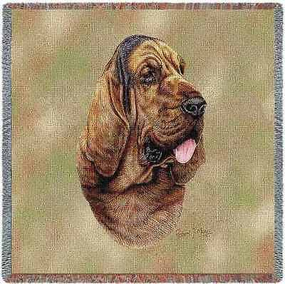 Lap Square Blanket - Bloodhound by Robert May 3311