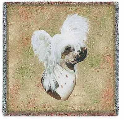 Lap Square Blanket - Chinese Crested by Robert May 5668