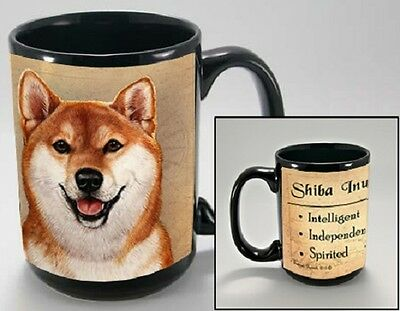 15 oz. Faithful Friends Mug - Shiba Inu MFF162