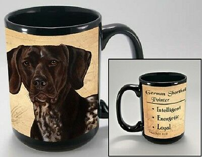 15 oz. Faithful Friends Mug - German Shorthaired Pointer MFF082