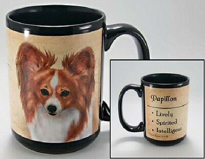 15 oz. Faithful Friends Mug - Papillon MFF120